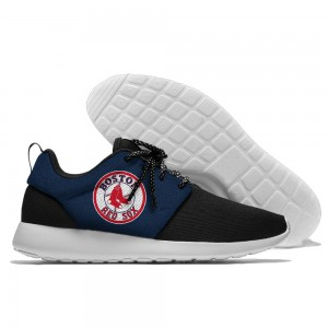 Men  Boston Red Sox Roshe style Lightweight Running shoes